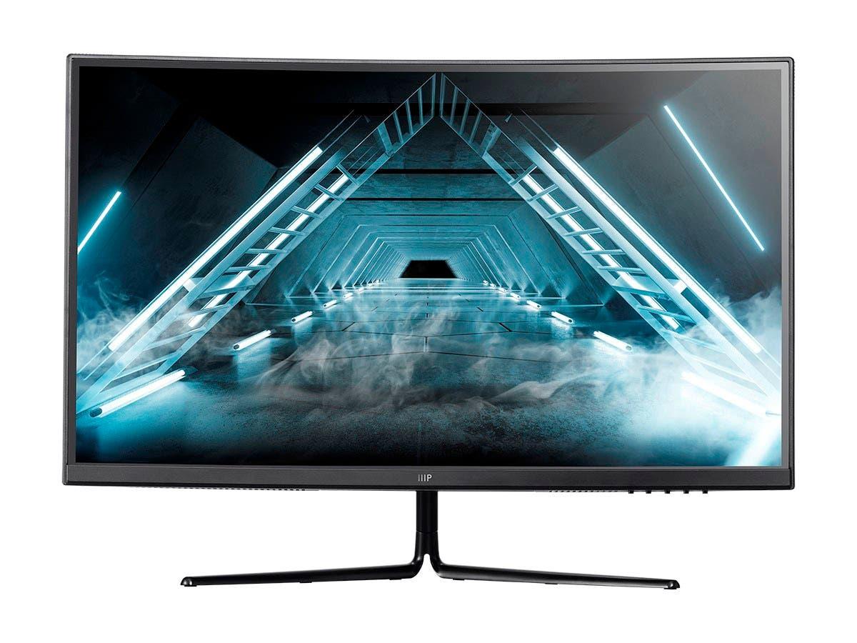 Monoprice Zero-G 27in Curved Gaming Monitor - 1500R, 2560x1440 (QHD), 144Hz, HDR, VA - main image