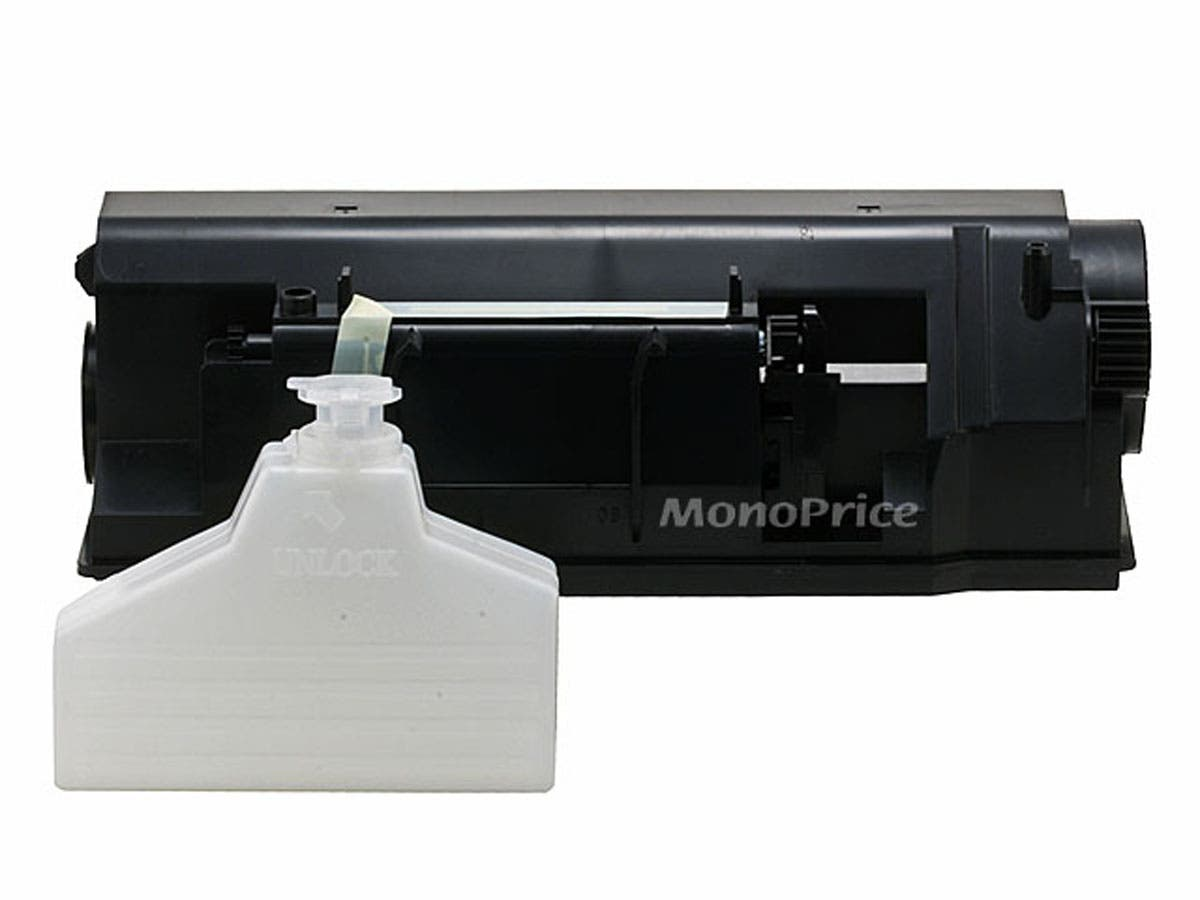Monoprice 1 pack 240g ctg and 1 pack waste per ctn Remanufactured Toner TK-55, TK-57, TK-65, TK-67 for Kyocera(MITA) FS-1920, 1920N, FS-3820, 3820N, 3839-Large-Image-1