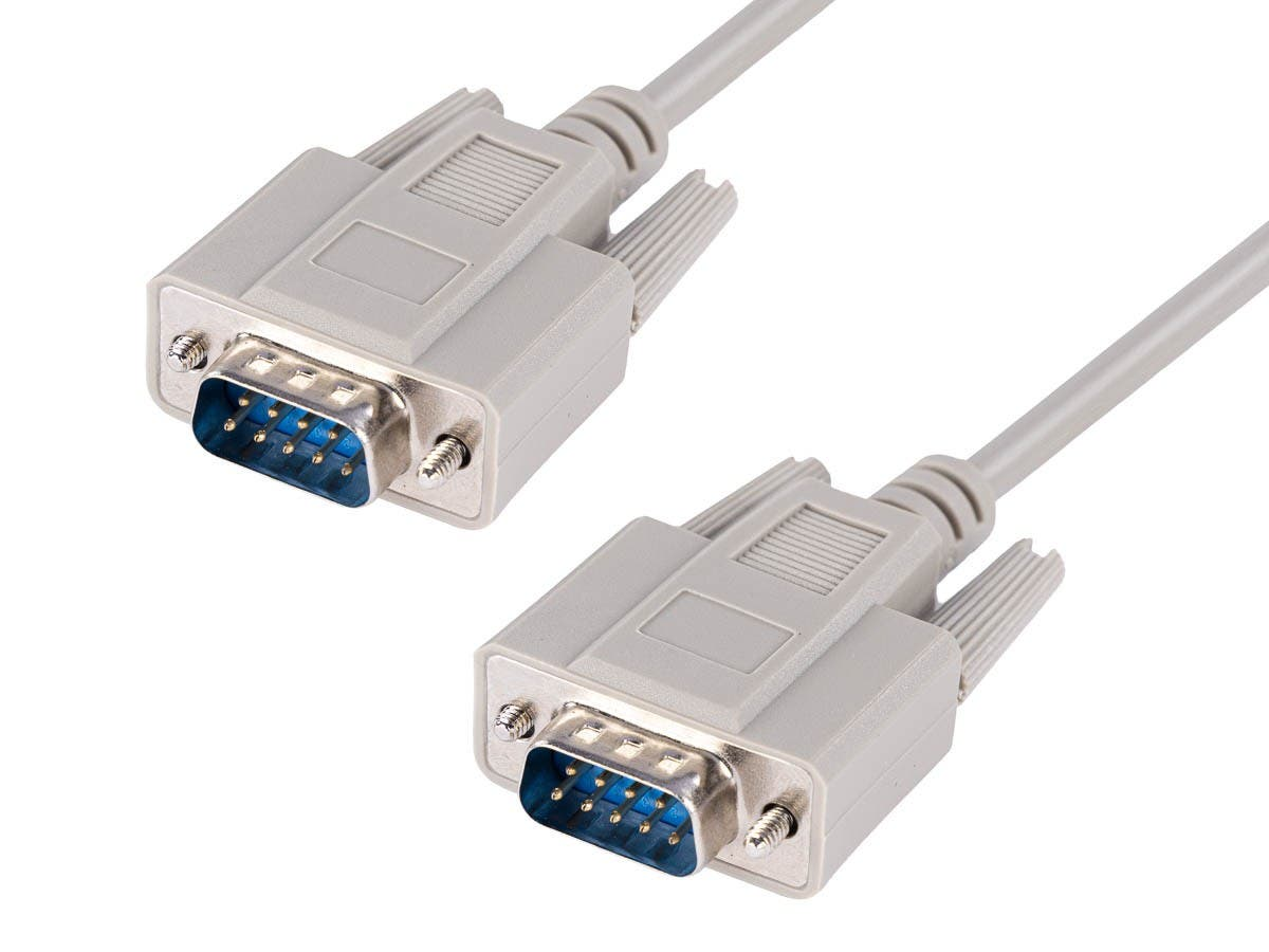 10ft DB 9 M/M Molded Cable