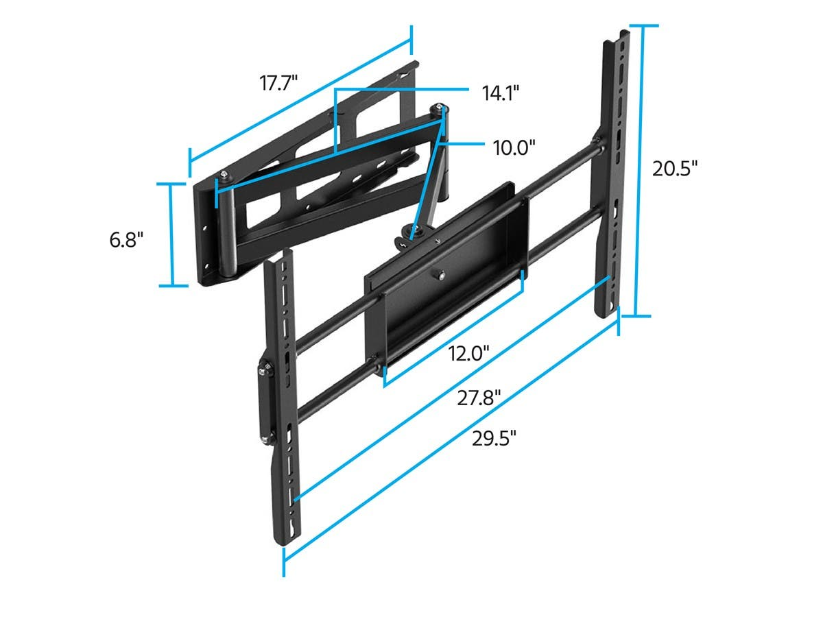 monoprice corner friendly full motion articulating tv wall mount Home Server Setup Diagram monoprice corner friendly full motion articulating tv wall mount bracket for tvs 37in to 70in