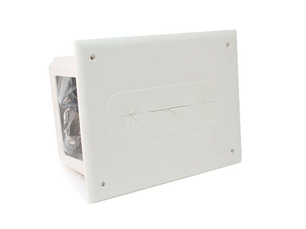 Monoprice Recessed Media Box White-Large-Image-1