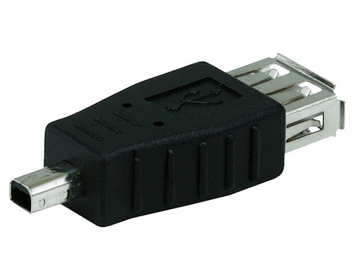 USB 2.0 A Female to Mini 4 pin (B4) Male Adapter