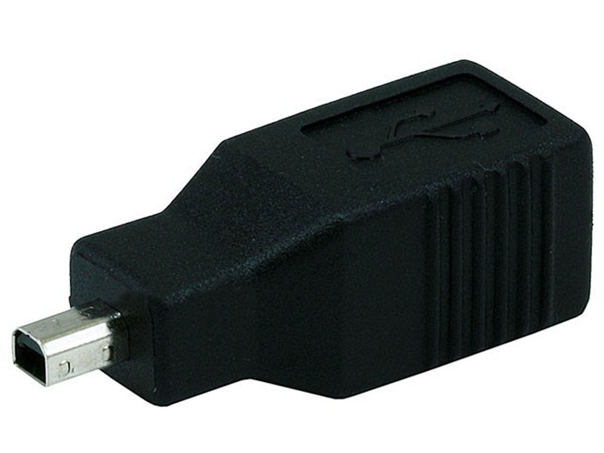 USB 2.0 B Female to Mini 4 pin (B4) Male Adapter