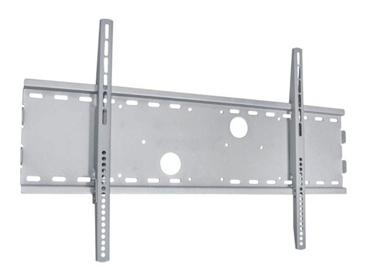Monoprice Titan Series Wide Fixed Wall Mount for Large 32 - 70 inch TVs Max 165 lbs Silver UL Certified, No Logo-Large-Image-1