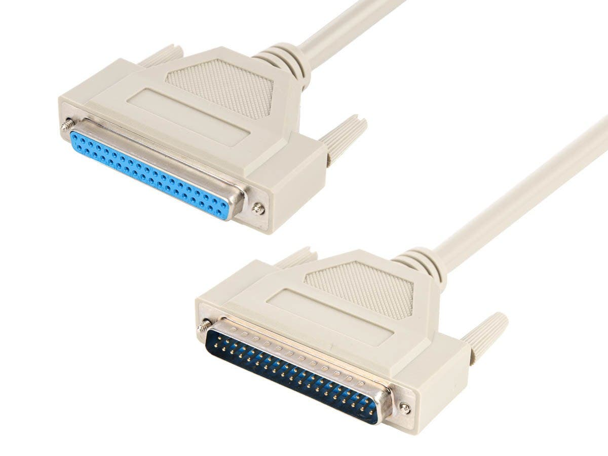 Monoprice 6ft DB37 M/F Molded Cable-Large-Image-1