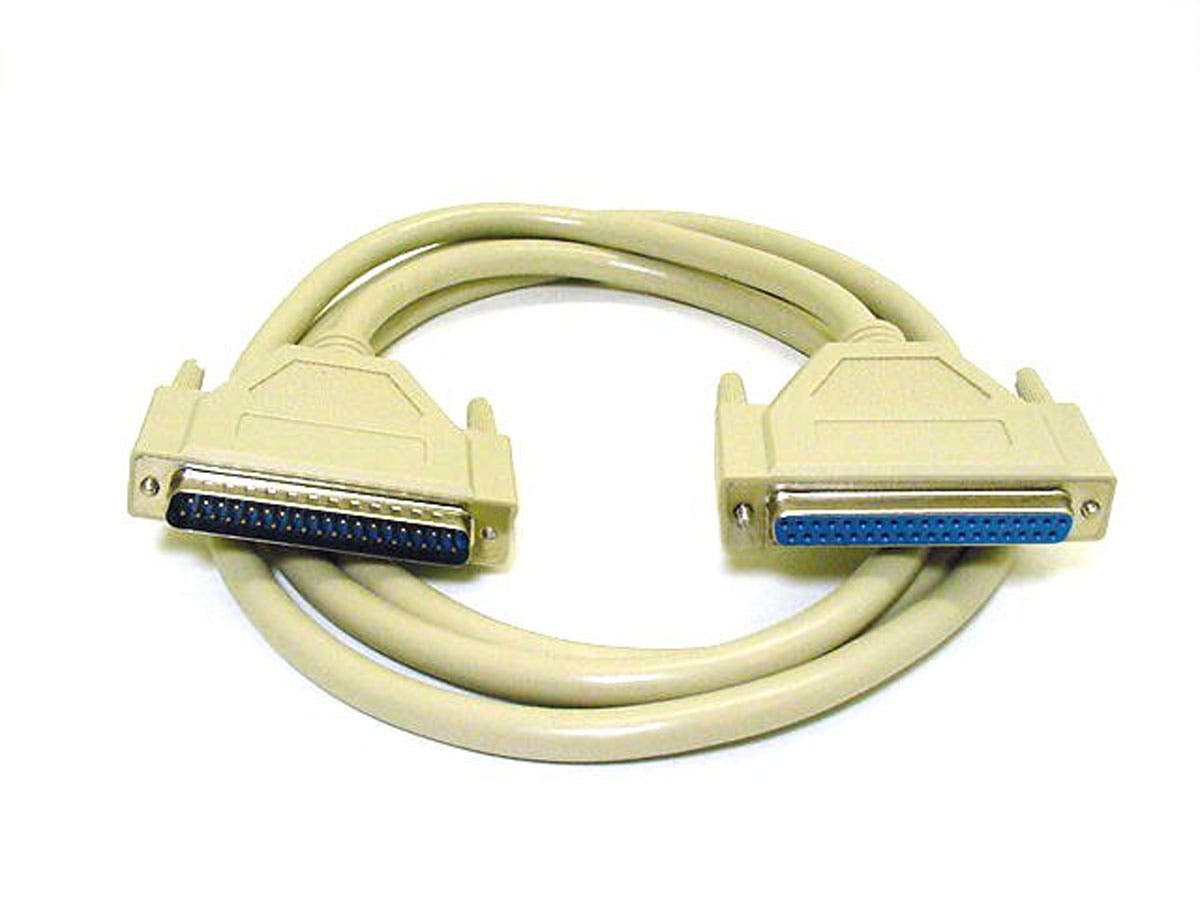 10ft DB37 M/F Molded Cable