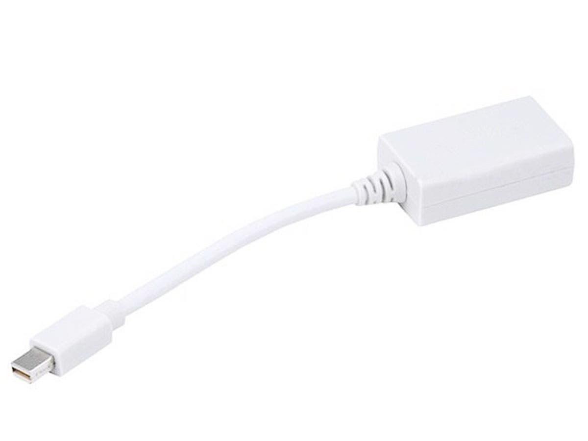Mini DisplayPort 1.1 to HDMI® Adapter w/ Audio Support - White