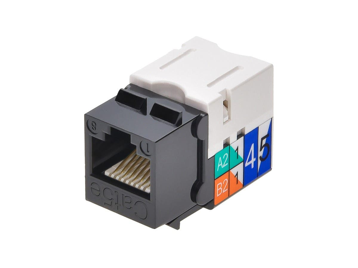 Monoprice Cat5e Punch Down Keystone Jack Black Diagram 3 10 From 32 Votes 7 36 Small Image