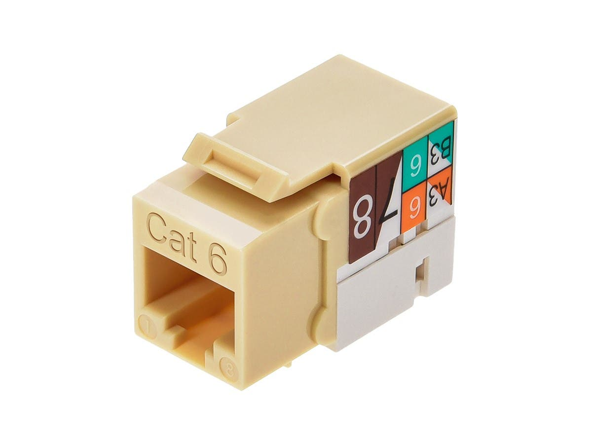 Monoprice Cat6 Punch Down Keystone Jack Beige Wiring Diagram Local Area Network What Am I Doing Wrong Small Image 4