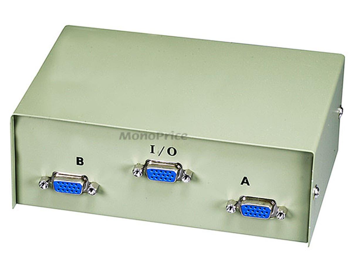 2 Way Monitor Switch Box