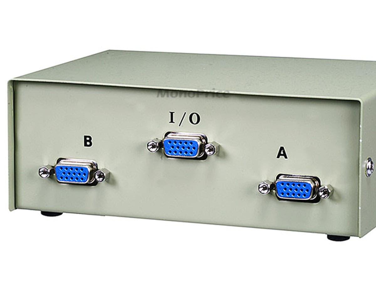 Monoprice 2 Port Vga Monitor Switch Data Wiring Diagram Small Image 3