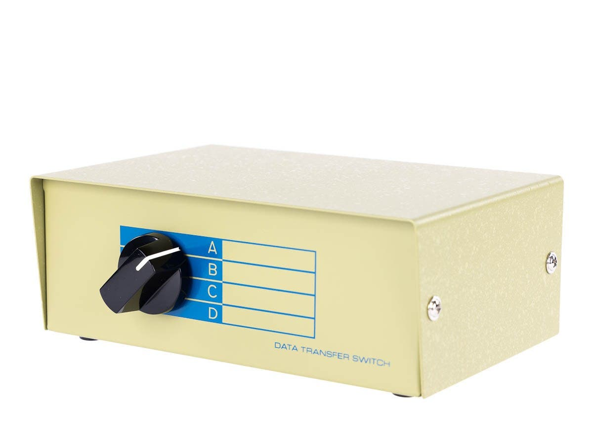 Monoprice 4 Port Vga Monitor Switch Monoprice Com