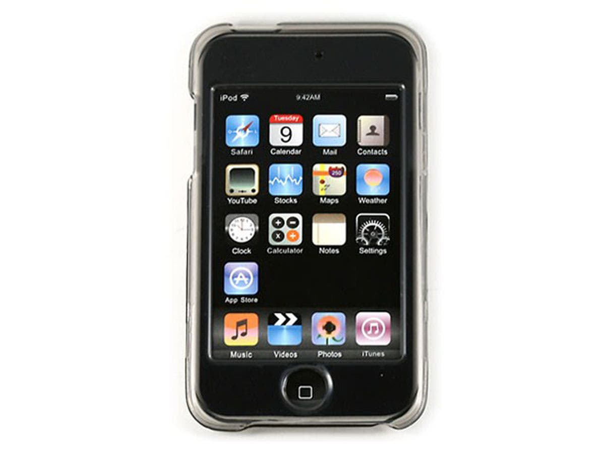 Crystal Case for iPod Touch 2nd & 3rd Generation, Smoke