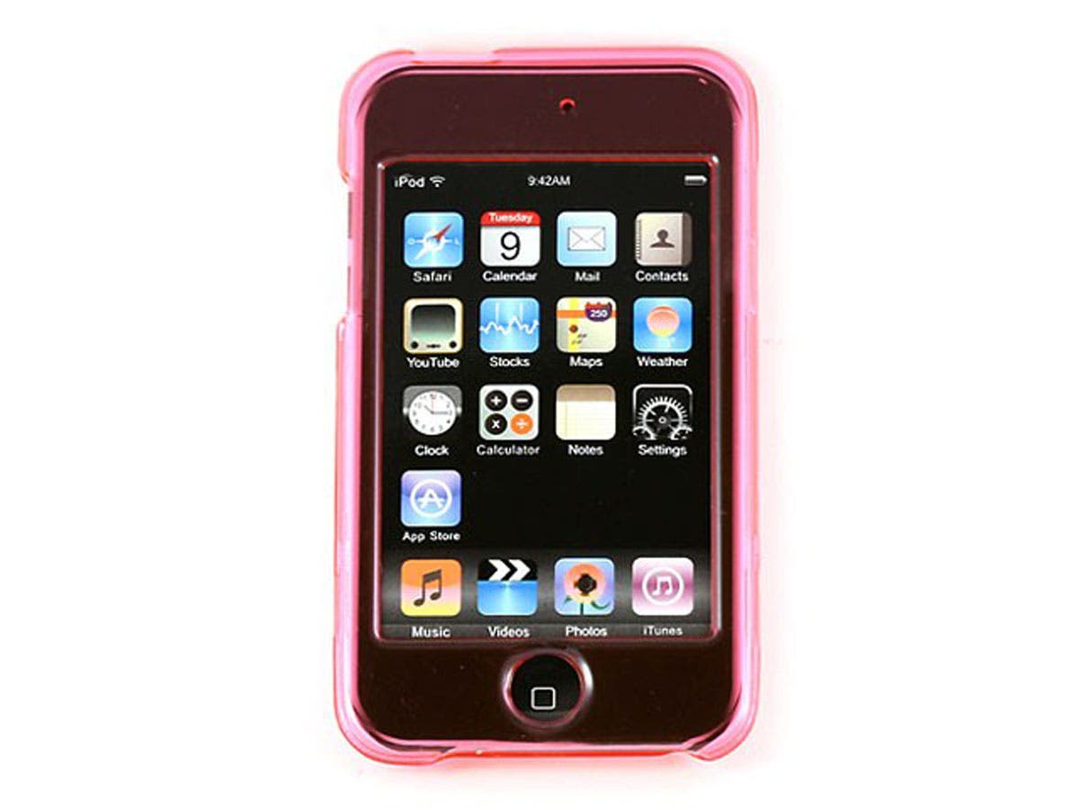 Crystal Case for iPod Touch 2nd & 3rd Generation, Pink