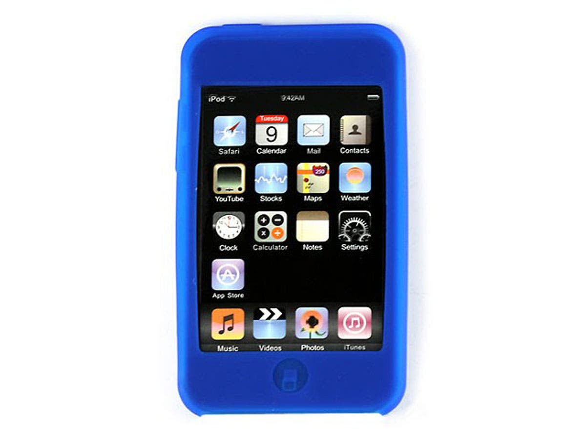 Silicone Skin for iPod Touch 2nd & 3rd Generation, Blue