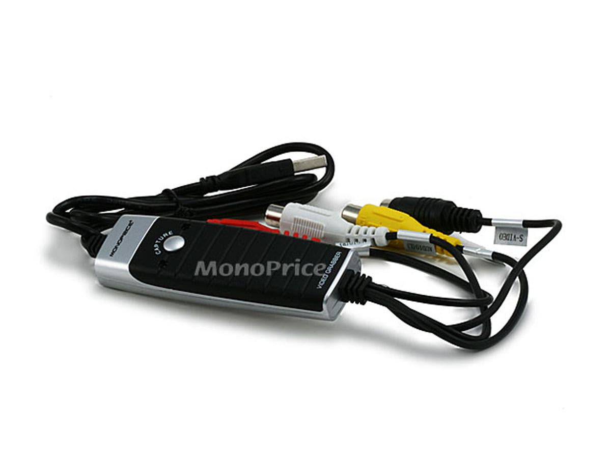 Monoprice USB 2.0 Video Grabber with Audio-Large-Image-1