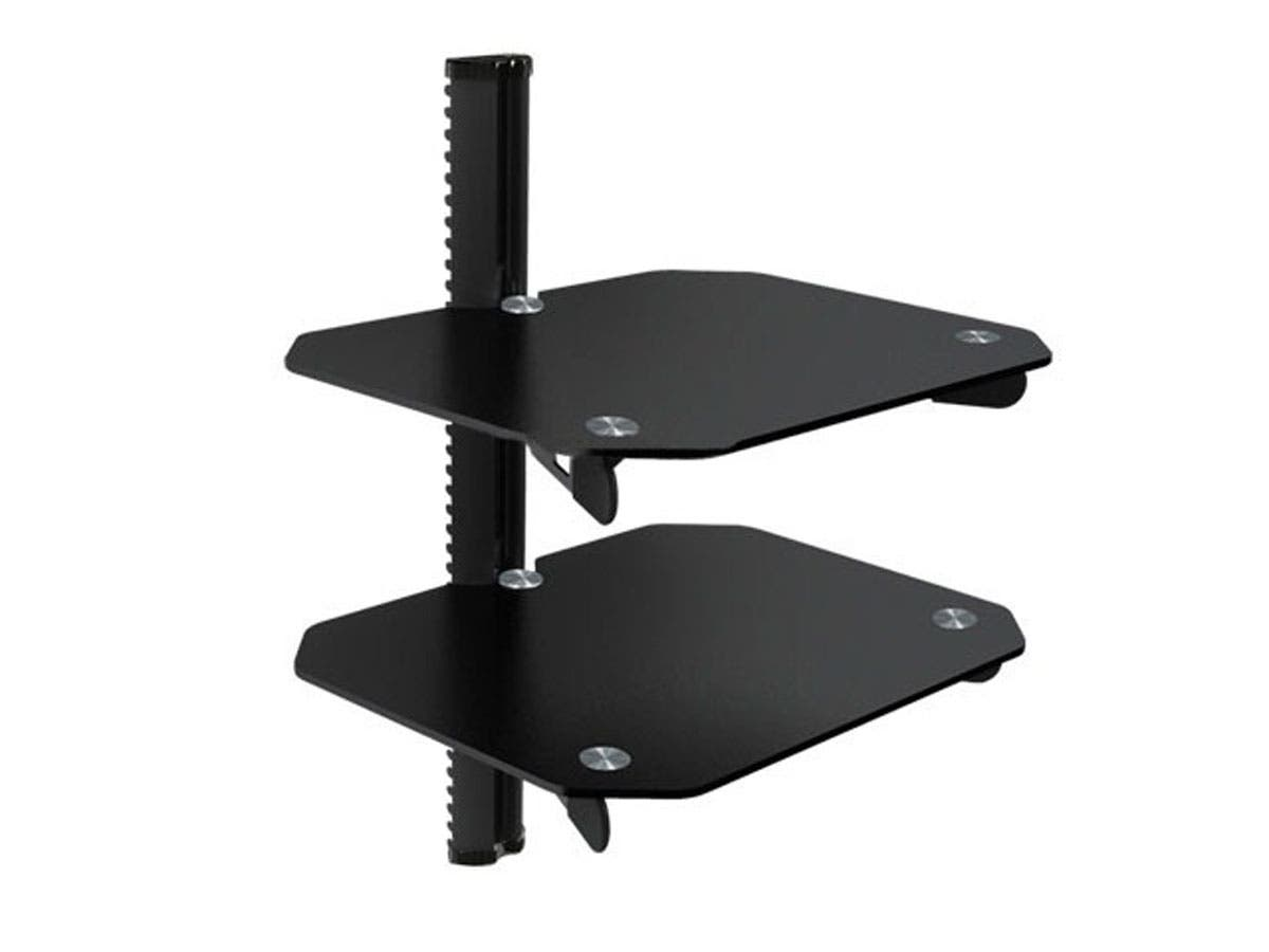 Floating Wall Mounted Shelf Bracket - Max Weight 22lbs-Large-Image-1