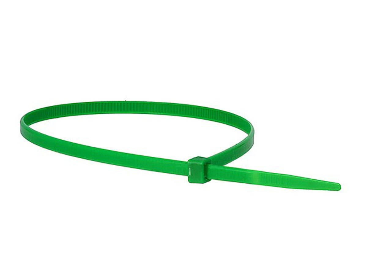 Cable Tie 14in 50 lbs, 100 pcs/pack, Green