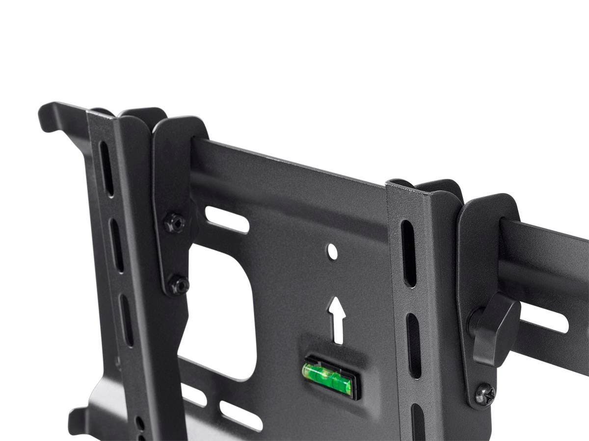 Monoprice Stable Series Ultra Slim Tilt Tv Wall Mount Bracket For Flat 4 Pin Wire Harness Tvs 32in To 55in