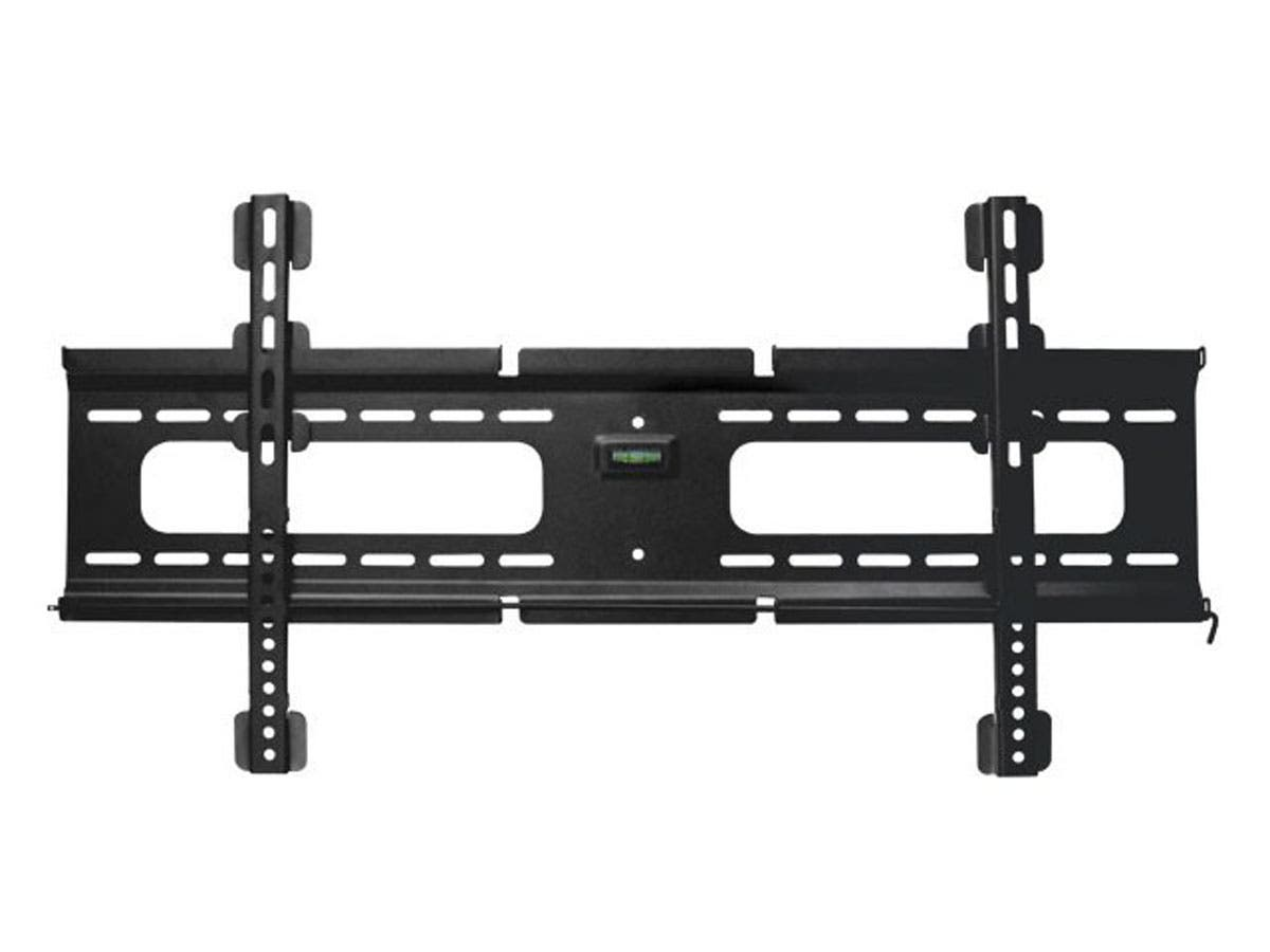 Height adjustable Ultra-Slim Fixed Wall Mount Bracket for 37~70in TVs up to 165 lbs, Black