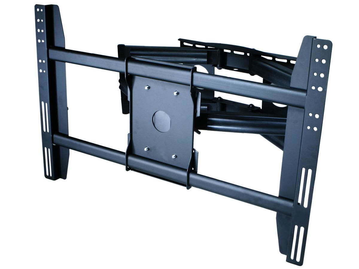 Monoprice Full-Motion Articulating TV Wall Mount Bracket - For TVs 42in to 63in, Max Weight 200lbs, Extension Range of 4.0in to 31.0in, VESA Patterns Up to 800x500-Large-Image-1