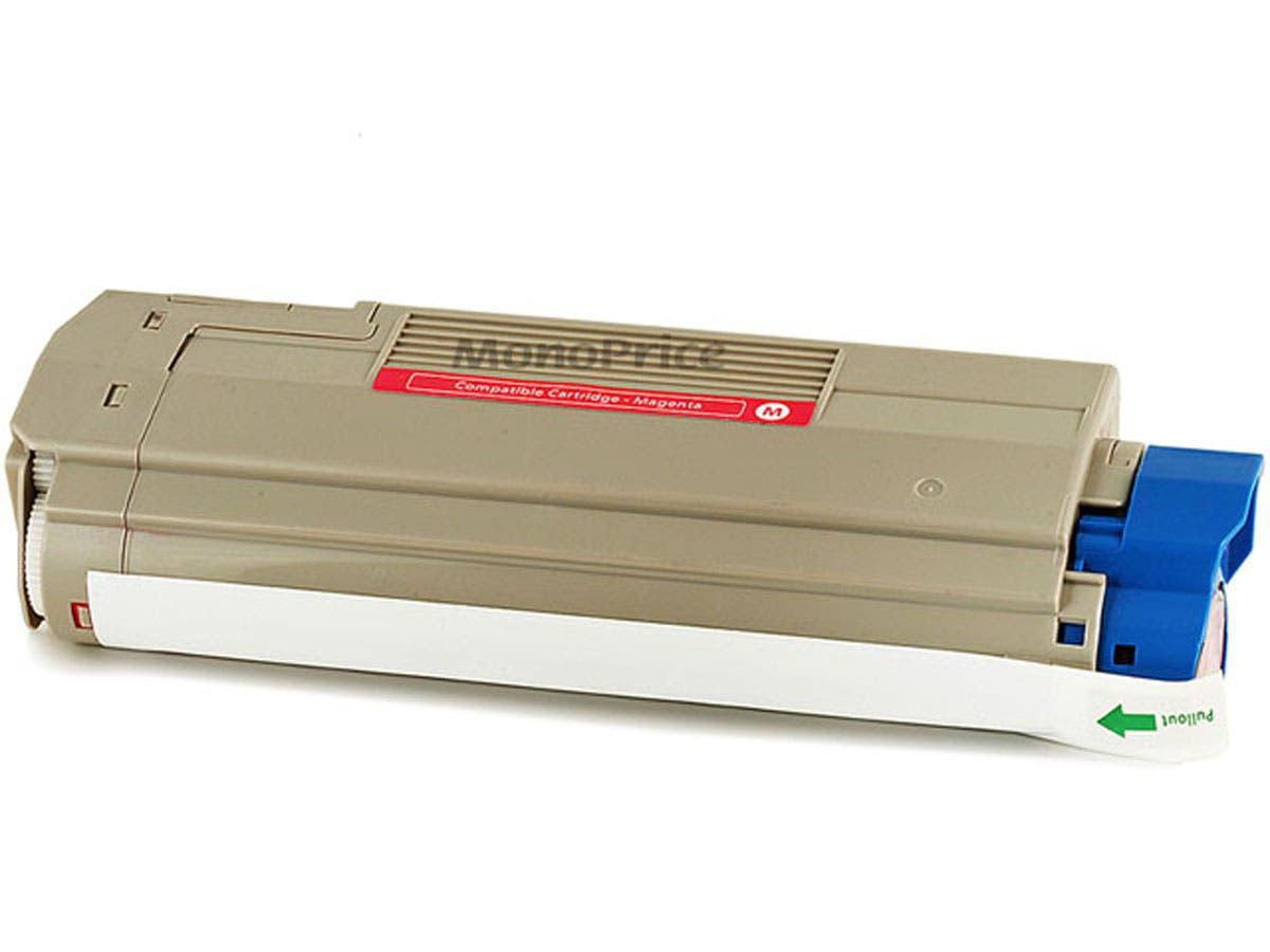 MPI Remanufactured Laser Toner Cartridge for OKIDATA C5550n, C6100Ldn (MAGENTA)