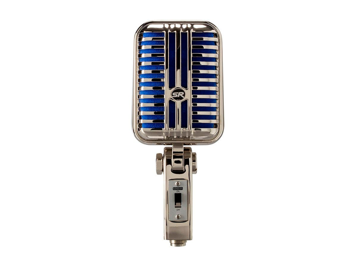 monoprice memphis blue classic retro style dynamic microphone. Black Bedroom Furniture Sets. Home Design Ideas