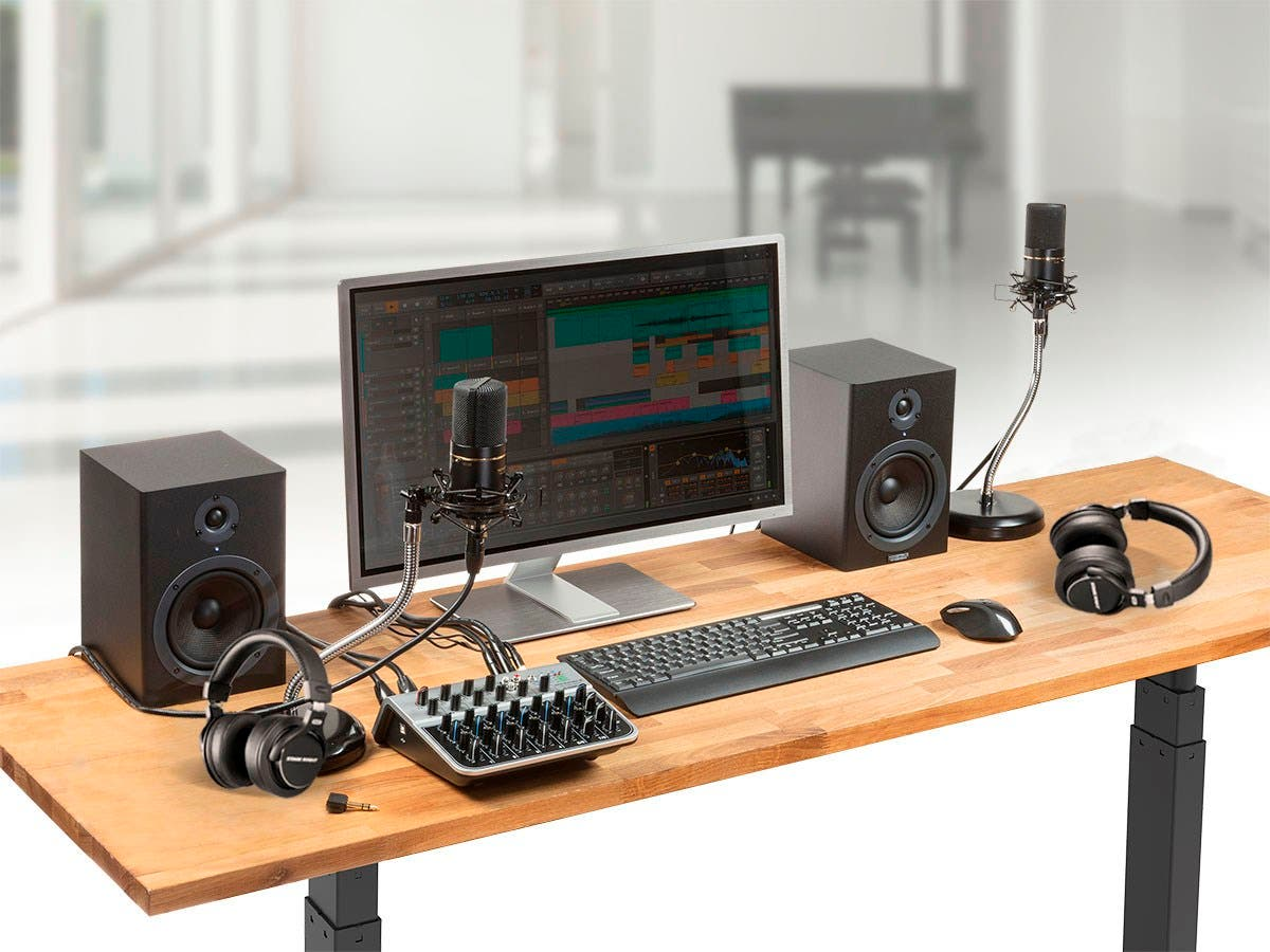 Stage Right by Monoprice Podcast PRO Studio Bundle-Large-Image-1