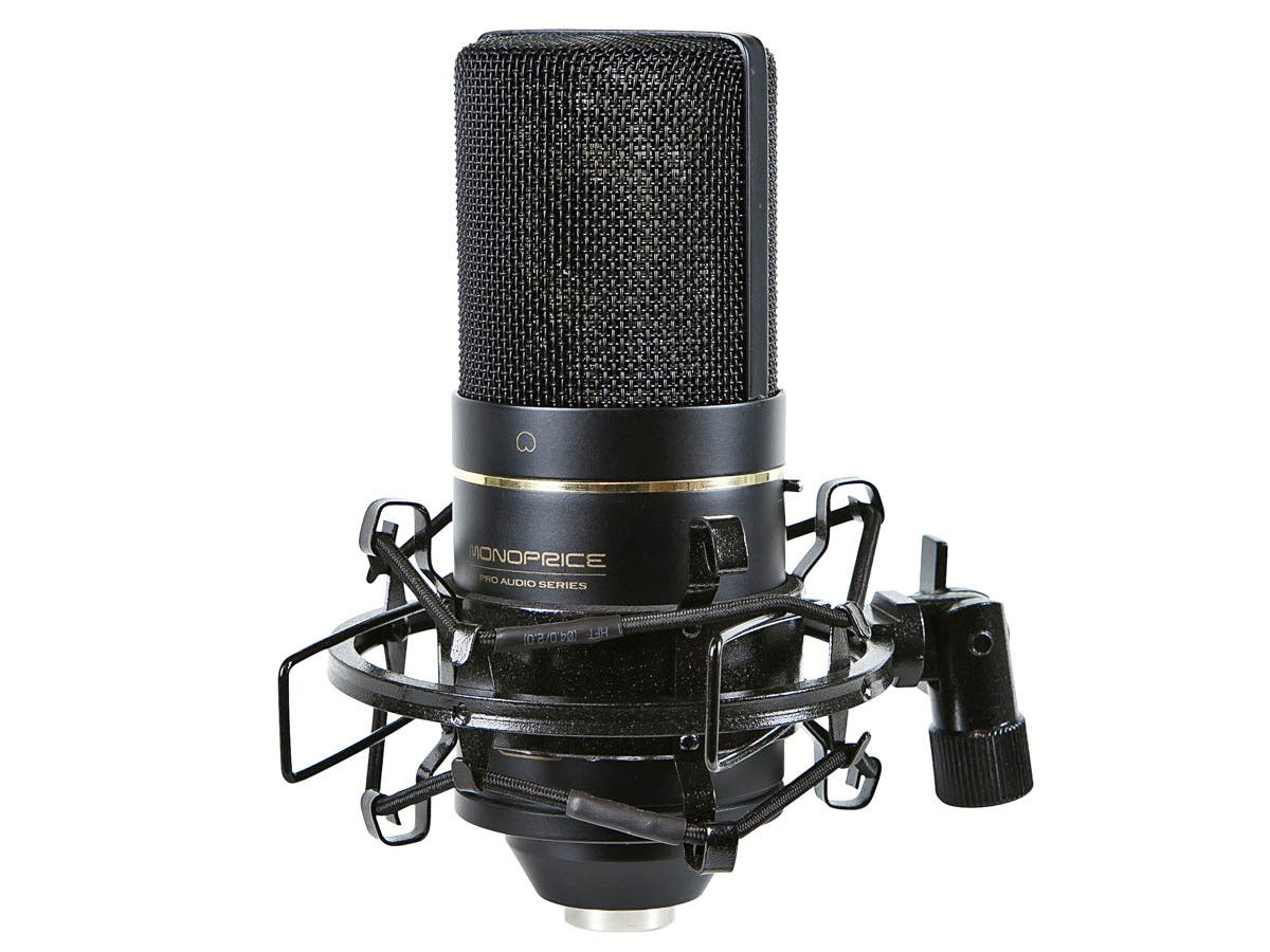 Large Diaphragm Condenser Microphone-Large-Image-1