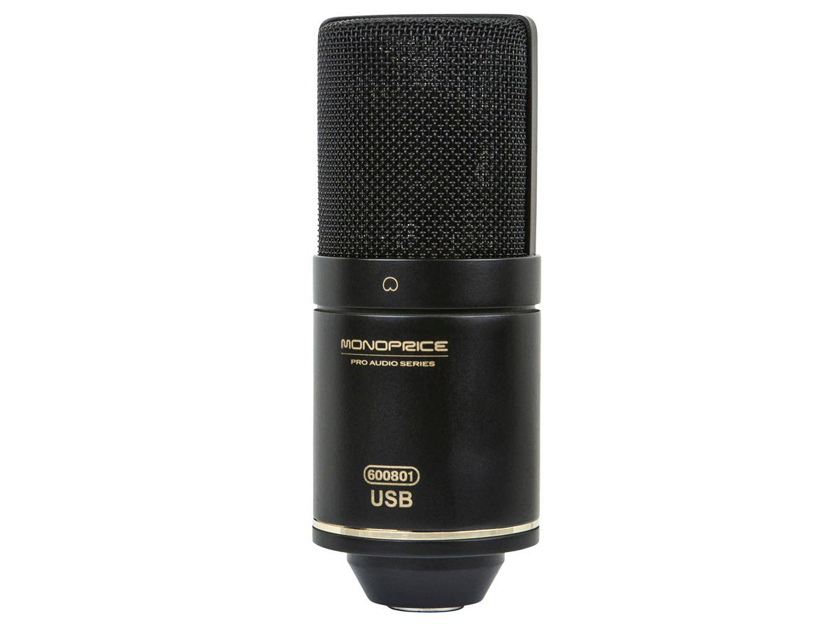 Large Diaphragm Condenser USB Microphone
