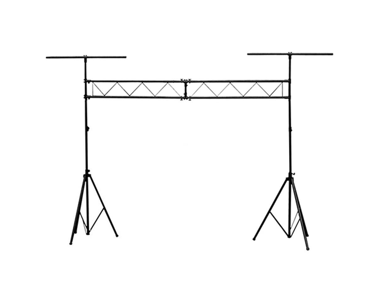 Stage Right Lighting Stand System with Truss