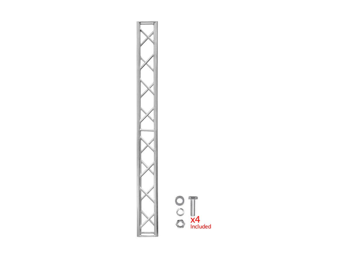 Stage Right by Monoprice 8in x 8in Lite Duty Box Truss 2m (6 56ft