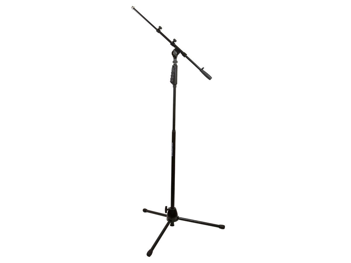 Monoprice Microphone Stand with Hand-Clutch & Telescopic Boom-Large-Image-1
