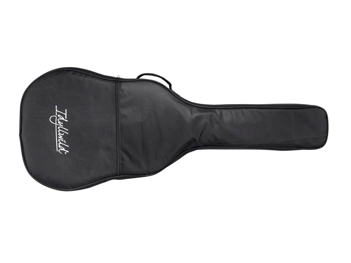 Monoprice Idyllwild Heavy-Duty 20mm Black Acoustic Guitar Gig Bag-Large-Image-1