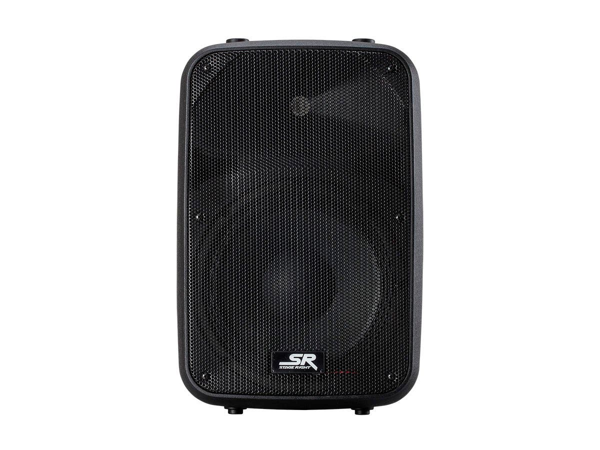 Stage Right by Monoprice APS 10 200W 10-inch 2-way Active PA System with 2-Channel Mixer (each)-Large-Image-1