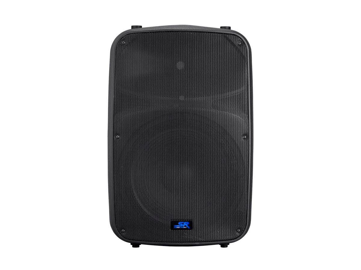 Stage Right by Monoprice APS 15 400W 15-inch 2-way Active PA System with 3-Channel Mixer - main image