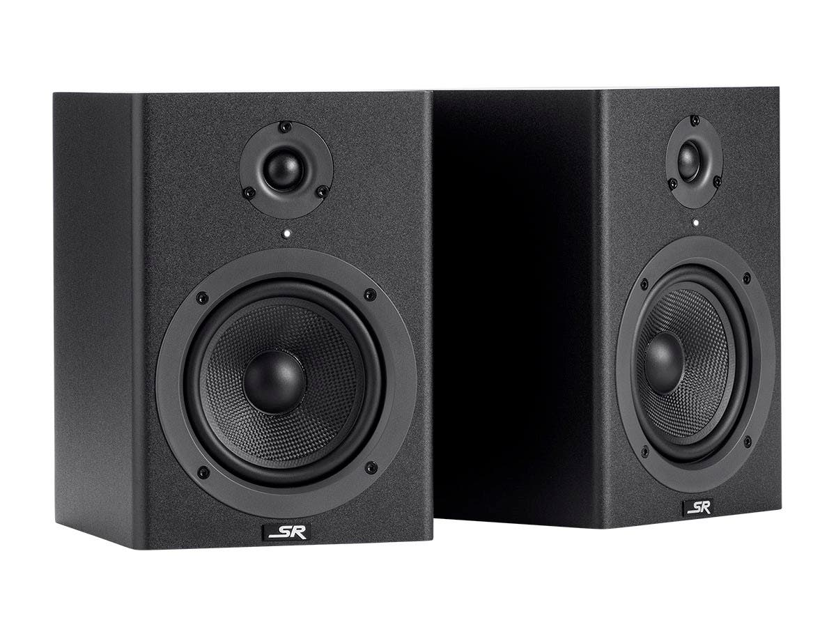 Stage Right by Monoprice 5-inch Powered Studio Multimedia Monitor Speakers (pair)-Large-Image-1