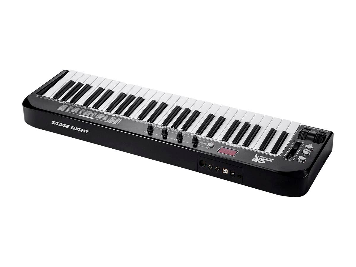 Stage Right by Monoprice 49-Key MIDI Keyboard Controller