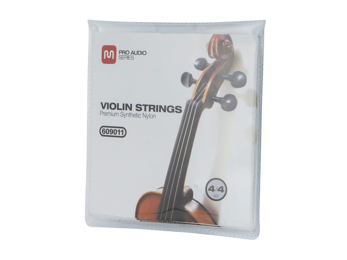 Monoprice Violin Strings - Premium Synthetic - Size 4/4-Large-Image-1