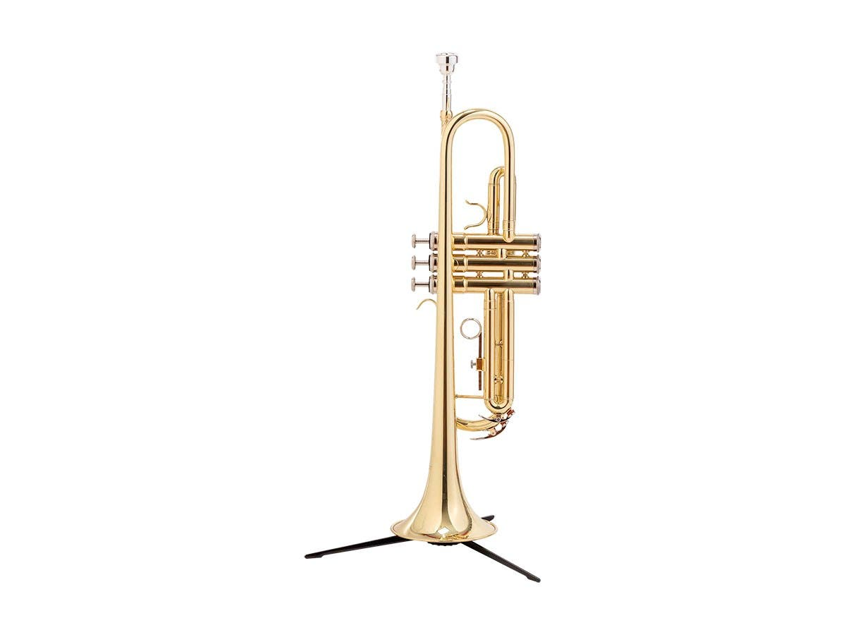 Stage Right Sonata by Monoprice Brass Bb Trumpet Outfit with Valve