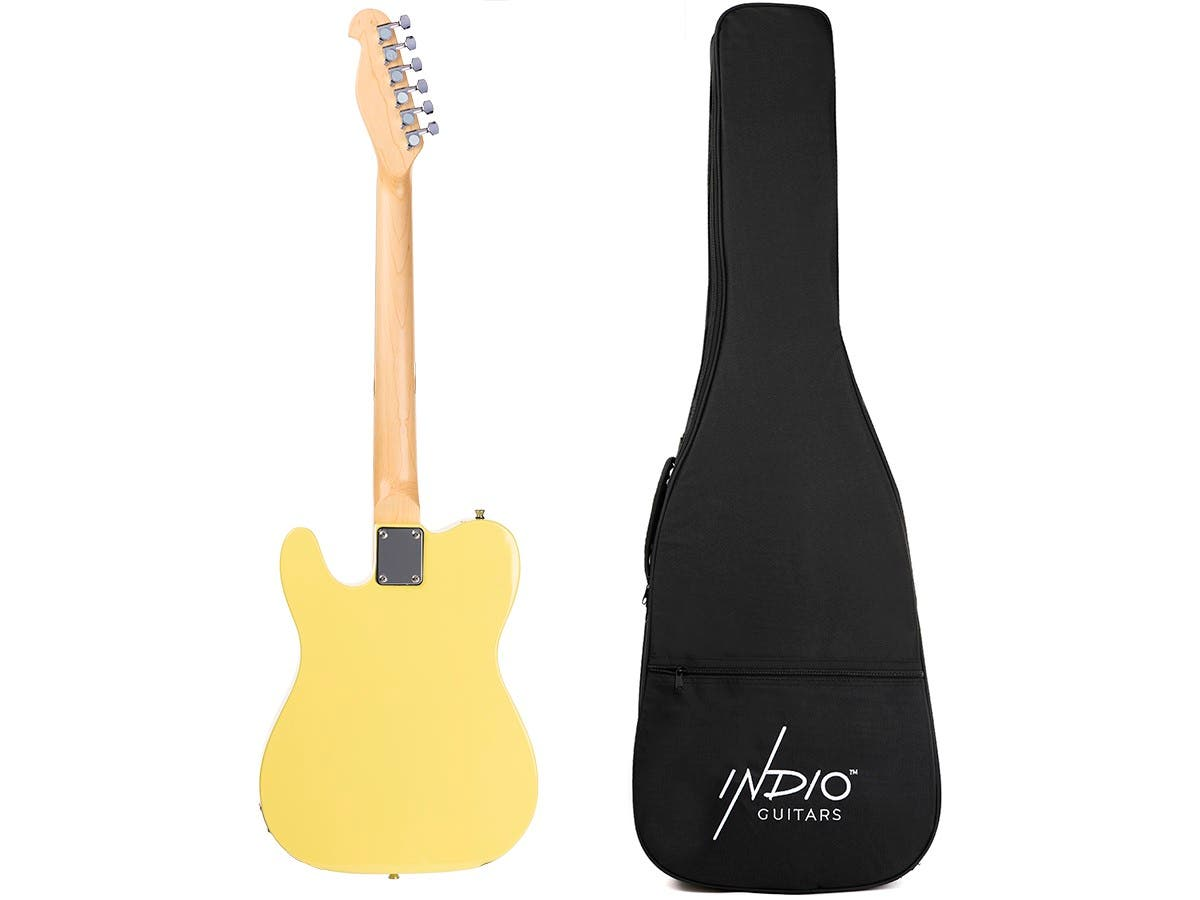 Indio By Monoprice Retro Classic Electric Guitar With Gig