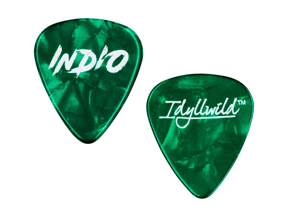 Stage Right by Monoprice Heavy Guitar Picks 0.88mm, 12-pack, Green-Large-Image-1