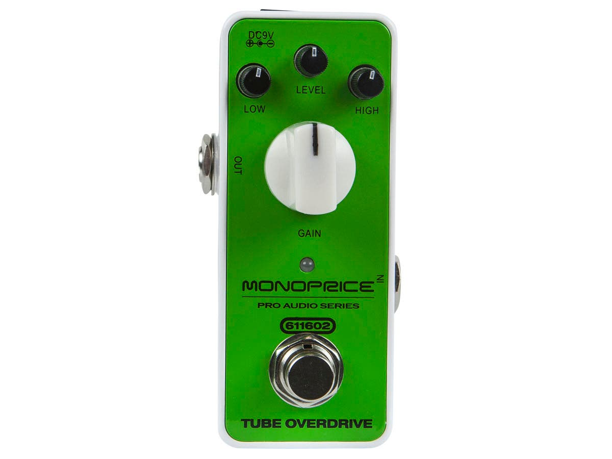 Tube Overdrive Mini Pedal-Large-Image-1