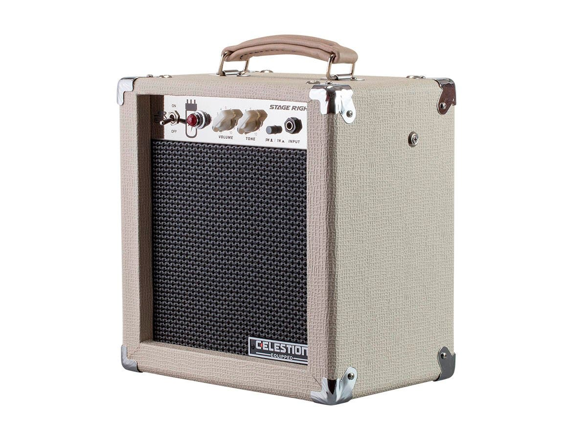 Monoprice 5 Watt 1x8 Guitar Combo Tube Amplifier With Celestion Fuse Box Video Speaker Large