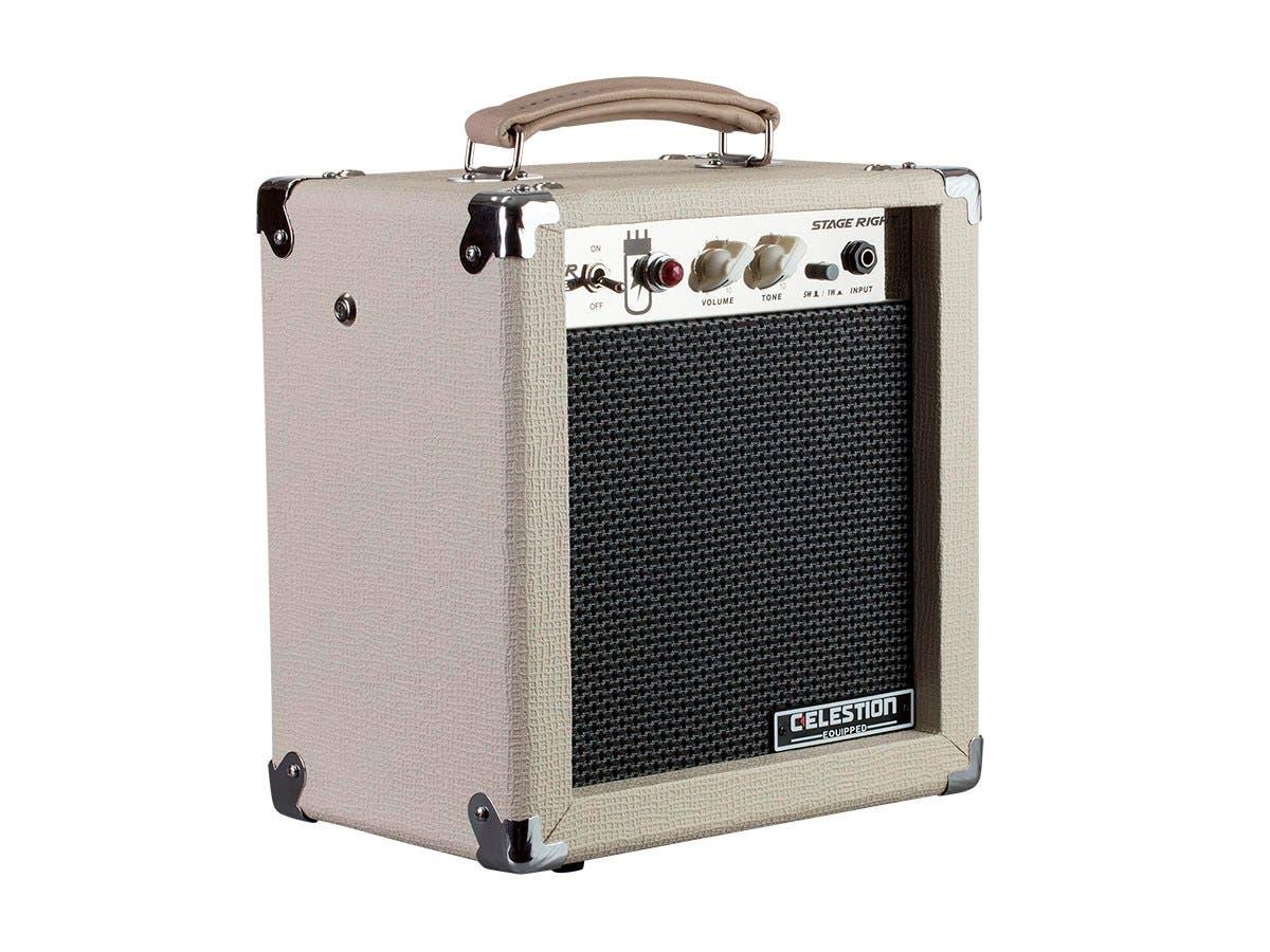Monoprice 5-Watt, 1x8 Guitar Combo Tube Amplifier with