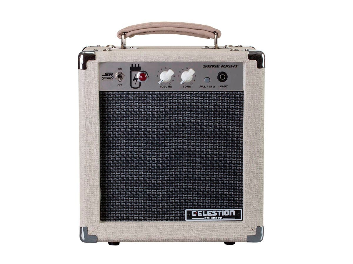 Monoprice 5 Watt 1x8 Guitar Combo Tube Amplifier With Celestion References Electronics Com Kill Switch Output Mute Speaker Small