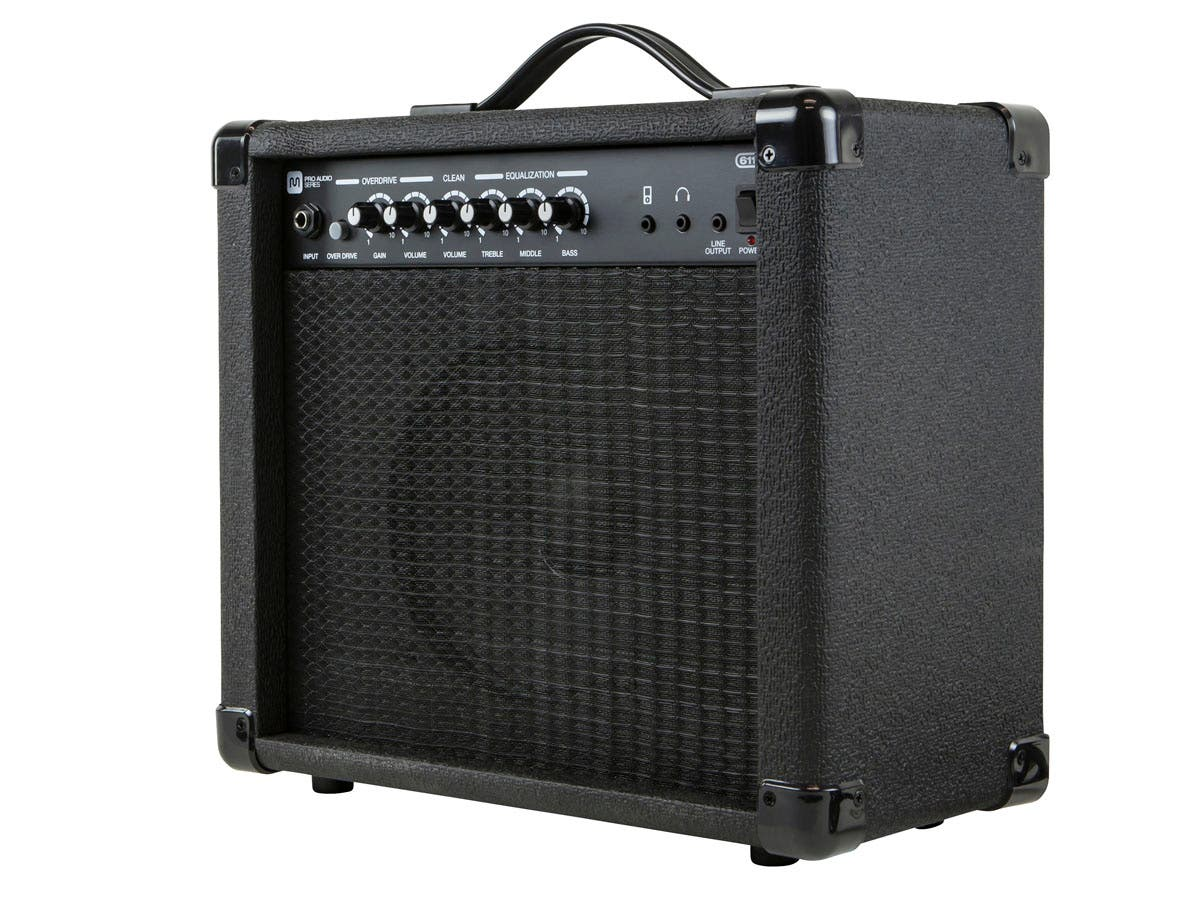 Monoprice 20-Watt, 1x8 Guitar Combo Amplifier-Large-Image-1