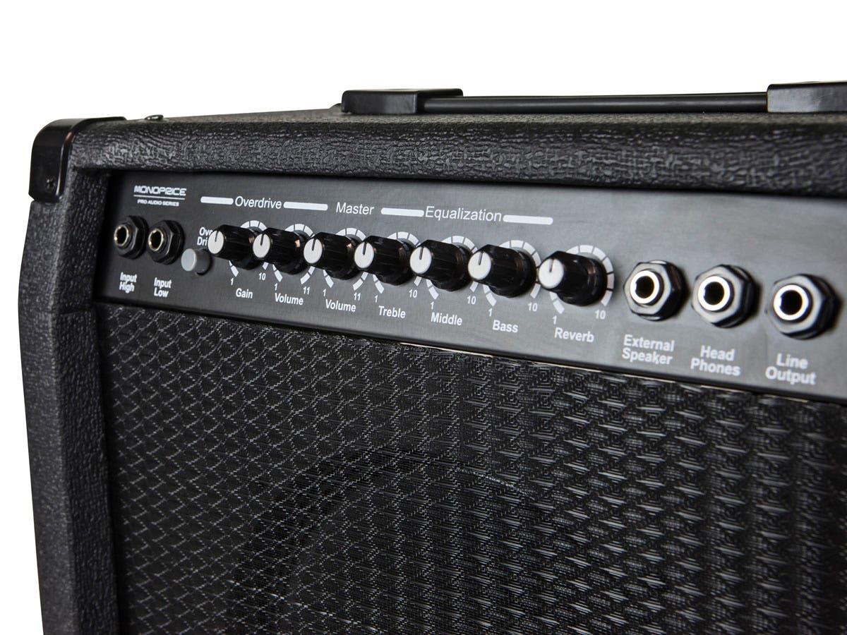 40-Watt 1x10 Guitar Combo Amplifier with Spring Reverb, 10 inch 4-ohm Speaker 3