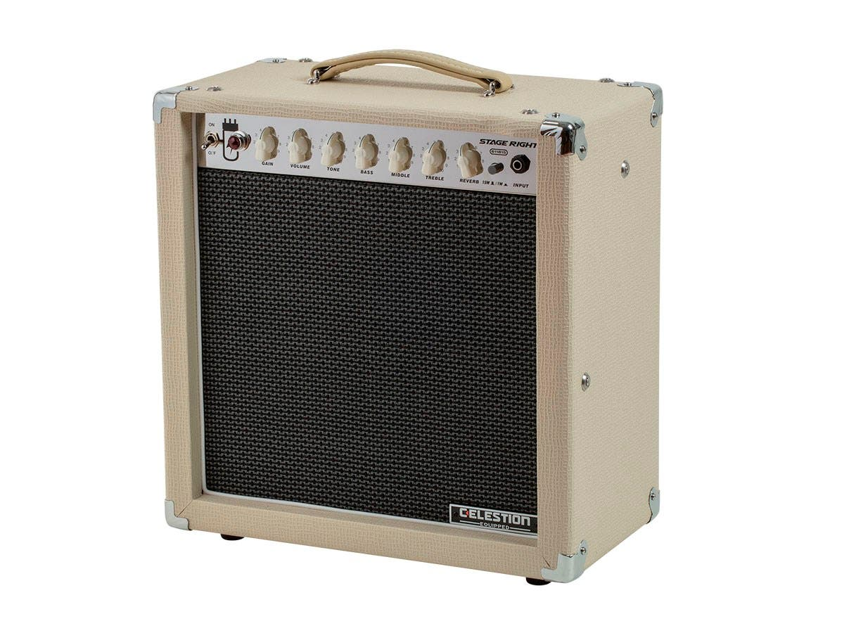 Monoprice 15-Watt, 1x12 Guitar Combo Tube Amplifier with
