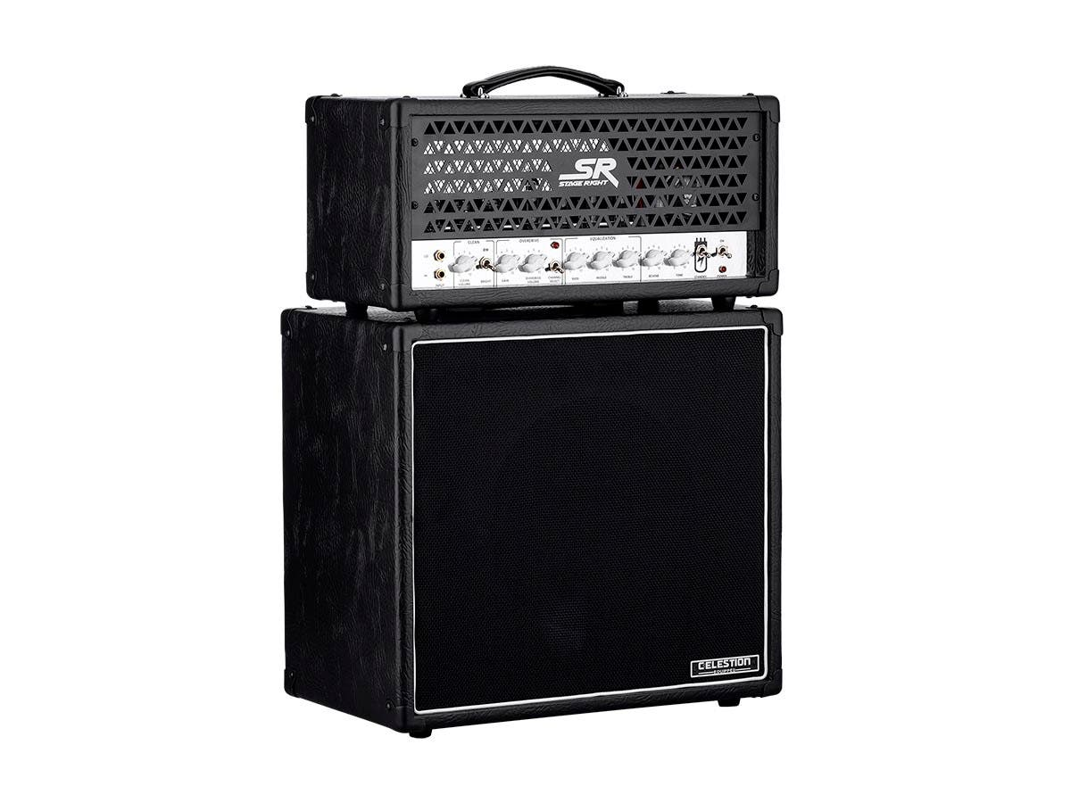 Stage Right by Monoprice 30-Watt 1x12 Guitar Stack Tube Amplifier with Celestion V30 and Reverb - main image